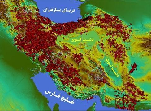 امکان مدیریت برنامه های عمرانی در نقشه باستان شناسی ایران وجود دارد