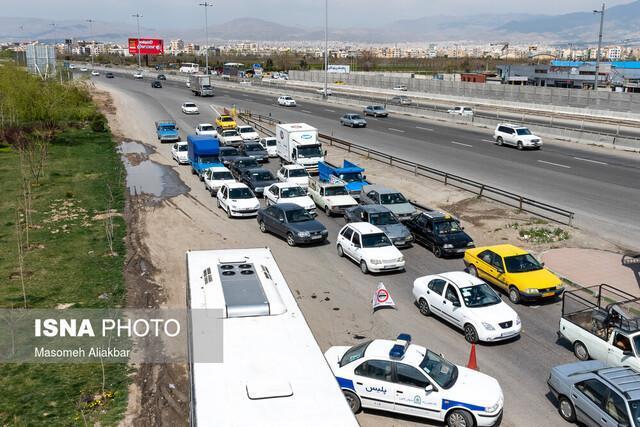 کاهش 69 درصدی تردد در جاده های خراسان شمالی طی ایام نوروز